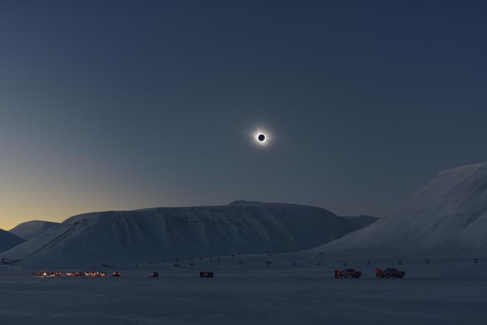 Arctic Solar Eclipse